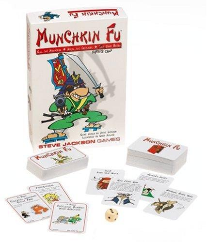 Steve Jackson Games 1412 Munchkin Fu (englische Ausgabe)