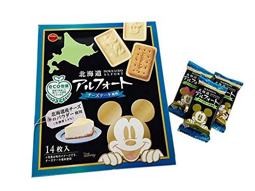 北海道アルフォート チーズケーキ風味 14枚入 ディズニーパッケージ