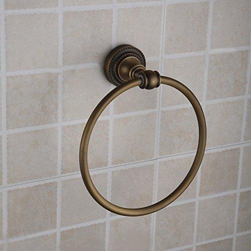 MBYW modern minimalistisk högt bärande handdukshängare badrum handdukstång antik handduksring antik handduksring 25860b rimligt pris Lämplig för badrum, sovrum, kök
