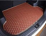 Coche Alfombrillas maletero para Subaru Outback 2019-2020 / Subaru Outback 2021, Cuero Impermeable Antideslizante AntiarañAzos Maletero Trasero Alfombra Protectora