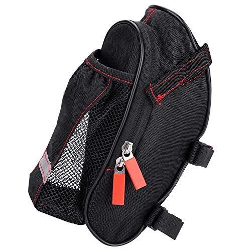 Sportausrüstung 1pc-Fahrrad-Sattel-Beutel-bewegliche Regenschutz Sattelstütze Taschen Oxford Cloth Rücksitz-Beutel for Straßen- und Mountainbike for Outdoor-Sportler ( Color : Black , Size : M )
