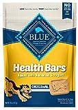 Blue Buffalo Health Bars Natural Crunchy Dog Treats Biscuits, Banana and Yogurt...