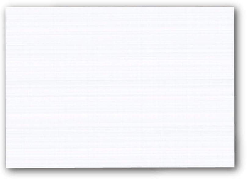 Blank White LINEN TEXTURED 5