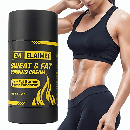 Sweat Gel - Hot Cream Cellulite and Fat Burner For Tummy - Slimming Cream Stomach Fat Burner - Hot Sweat Gel belly fat burner for Shaping Waist, Abdomen and Buttocks Legs