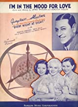 I'm In the Mood for Love Vintage 1935 Sheet Music from
