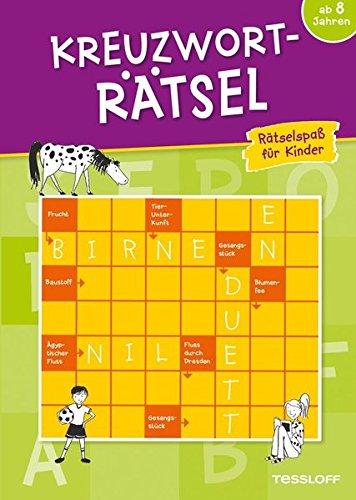 Kreuzworträtsel ab 8 Jahren (Grün) (Rätsel, Spaß, Spiele)