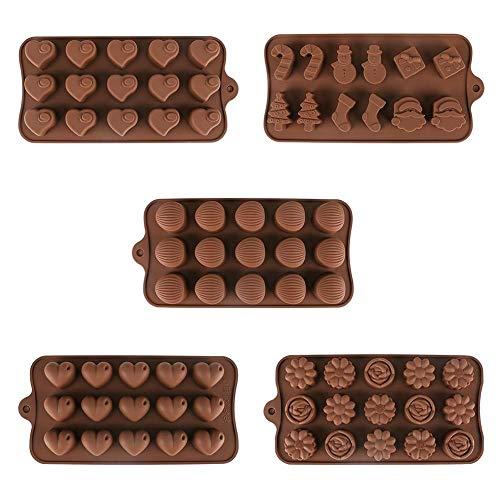 3D Silikon Schokoladenform DIY handgemachte Seife Form Kuchenform Gelee Candy Bar Eiswürfelform Fondant Formen Küche Backzubehör Großhandel