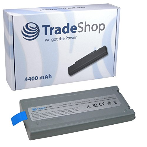 Hochleistungs Li-Ion Qualitäts Akku, 10,8V/11,1 / 4400mAh ersetzt Panasonic CF-VZSU28, CF-VZSU48, CF-VZSU48U, CF-VZSU50 für Panasonic ToughBook CF-19