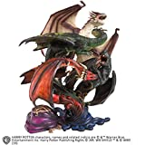 Noble Collection - Harry Potter Creature Magiche-Diorama Dragones de la Primera Prueba,...