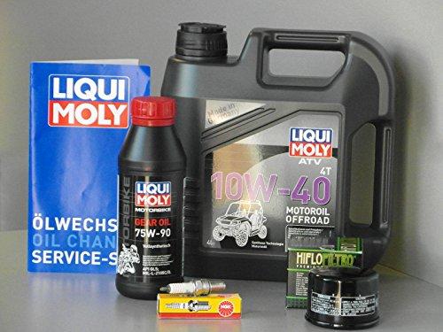 Wartungs - Set ATV / Quad Kymco MXU 500 4x4 /2x4, Inspektion - Oelfilter, Kerze