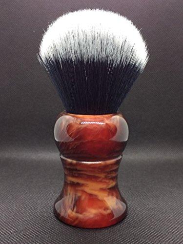 Grande Formato Yaqi 28mm degli uomini di Pennello Da Barba con Manico In Resina Smoking Nodo Per Gli Uomini
