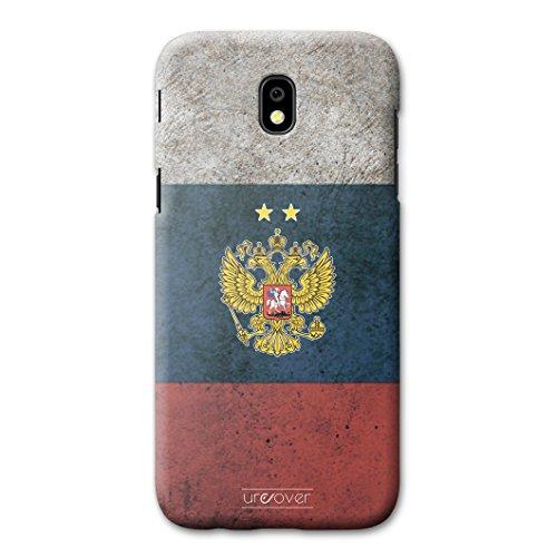 Urcover® Voetbalbeschermhoes compatibel met Samsung Galaxy J5 (2017) [team] WM 18 hoes case, Rusland.