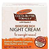 Palmer's Cocoa Butter Formula Moisture Rich Night Cream, 2.70 oz (Pack of 3)