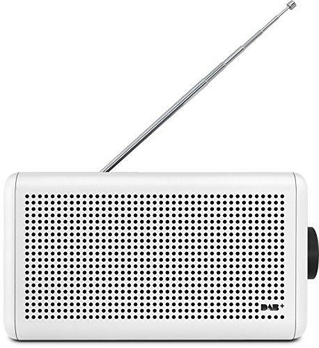 Nordmende Transita 210 – Tragbares DAB+ & UKW Digitalradio (Portable Musikbox mit Bluetooth Stereo Lautsprecher – Outdoor Radio mit Akku & Uhr)