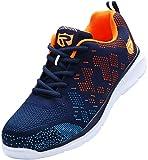 LARNMERN PLUS Zapatillas de Seguridad Mujer Ligero, Zapatos Seguridad Punta de Acero Antiperforación Comodas Transpirable Calzado de Trabajo Antideslizante Construcción Zapatos(36 EU,Azul 112)
