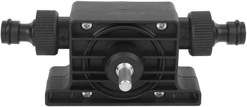 /Ölpumpe Tragbare elektrische Bohrmaschine Pumpe Kompaktwasser /Ölpumpe Kraft Wasserpumpen mit 2-teiligem Anschluss Schwarze /Ölpumpe schwarze /Ölpumpe)