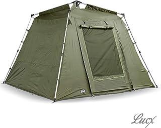Lucx® Marder fisketält Bivvy 1 2 eller 3 man karptält campingtält Carp Dome 2 eller 3 man fisketält