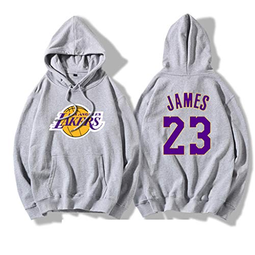 L.A. Lakers LeBron James Herren Hoodie Youth Männer Pullover Name & Number Fashion Basketball Sports Sweatshirt Tops