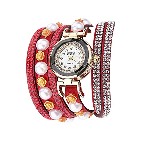 Damen Armband Uhr, Luotuo Frauen Luxus...