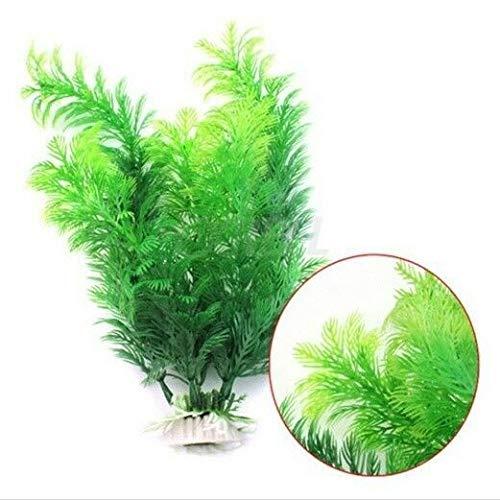 LACKINGONE grote 30 cm gesimuleerde plantengras Aquarium ornament plant plastic grote vis tank