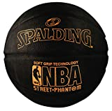 Spalding NBA Street Phantom Basketball 29.5' - Neon Orange/Black