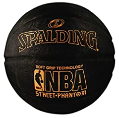 Official NBA size and weight: Size 7, 29.5 inches High performance rubber cover with Soft Grip Technology Sponge rubber design Shipped inflated and game ready Designed for outdoor play