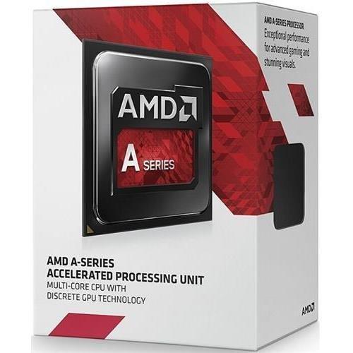 AMD AD7300OKHLBOX A4–7300Dual-Core (2Core) 3,80GHz–Procesador (Socket FM2Retail Pack–1MB–sí–32NM–AMD Radeon HD 8470d gráfica