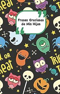Frases Graciosas de mis hijos: Portada con Monstruos Apunta las frases graciosas de tus niños