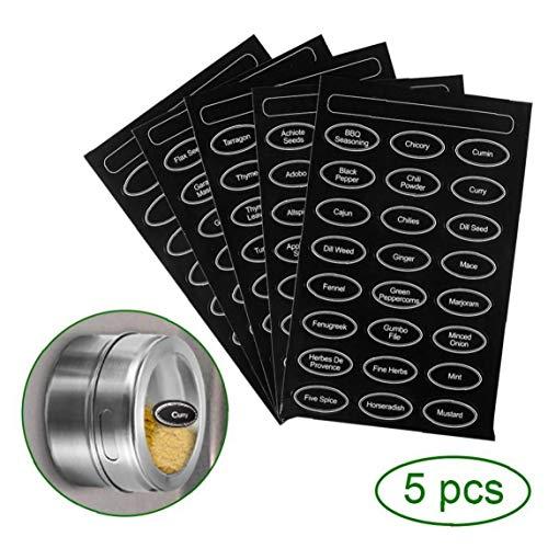 Case&Cover 6pcs Spice Magnetica Jar Sale Pepe Shaker Holder Adesivi Spezie Lattine Contenitore Cucina Condimento Powder Storage Box Sliver