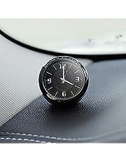 Iriisy mini reloj coche para salpicadero Universal Reloj del Coche Fantastico Reloj de salida de aire del coche universal