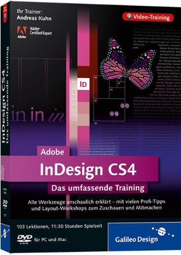 Adobe InDesign CS4. Layouts entwerfen und gestalten. Das Video-Training auf DVD [import allemand]