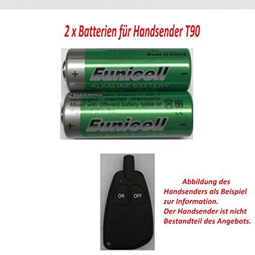 2pilas para Webasto T90Stand Calefacción emisor manual mando a distancia 2x 12V para BMW Mercedes VW Skoda Audi Eunicell