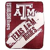 Northwest NCAA Collegiate School Logo Fleece Blanket (Texas A&M Aggies)