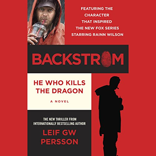 Backstrom: He Who Kills the Dragon audiobook cover art