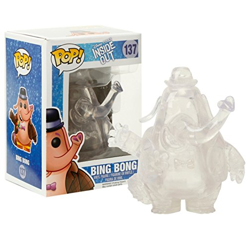 Funko POP Disney/Pixar: Inside Out - Clear Bing Bong Exclusive Toy Vinyl Figure by FunKo