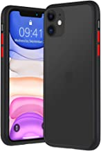 ANVIKA Mobile Back Cover for iPhone 11 Smoke Case Transparent TPU Bumper Drop Protection Scratch Resistant Protective Phone Cover for iPhone 11 (Black)