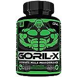 GORIL-X Men's Performance Pills - All Natural...