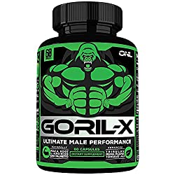 in budget affordable GORIL-X Men's Performance Tablet-Increases all natural expansion booster size, strength, …