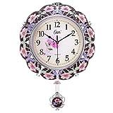 DIEFMJ Relojes de Pared Reloj de Pared de 20 Pulgadas Reloj de...