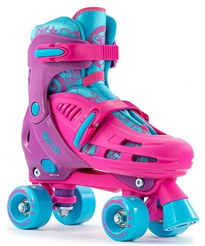 SFR Hurricane Adjustable Kids Quads Pink