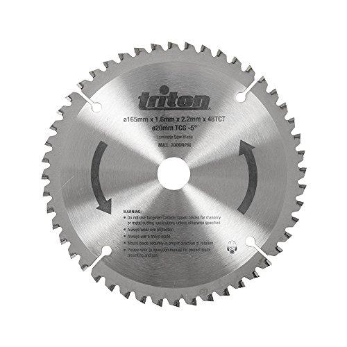 Triton 819898 - Saw incisione lama, 48 denti (lama tts48tcg, 48 denti)