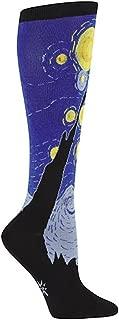 starry night knee socks