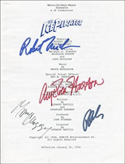 The Ice Pirates Movie Cast - Program Signed Circa 1984 with co-signers