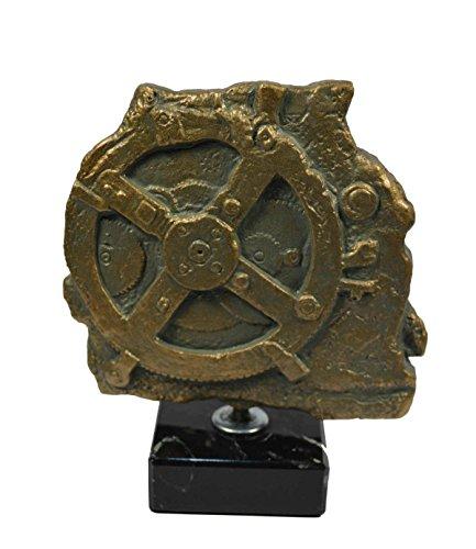 Mecanismo de anticitera Escultura de la antigua Grecia analógico ordenador
