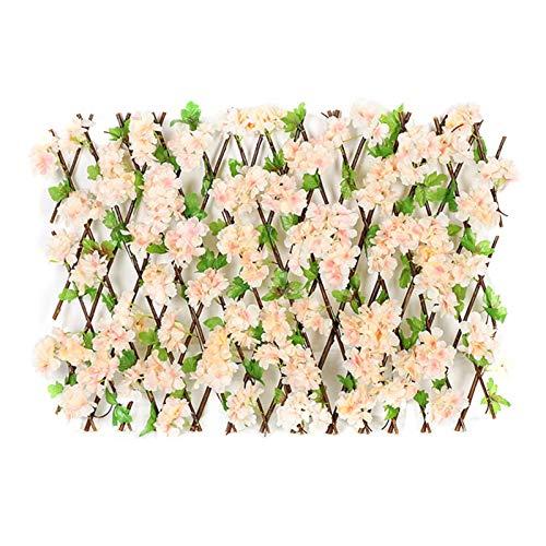 Paneles de valla de plantas de jardín artificial | Valla extensible Pantalla...