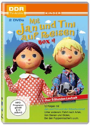 Mit Jan und Tini auf Reisen - Box 4 (DDR TV-Archiv - 2 DVDs)