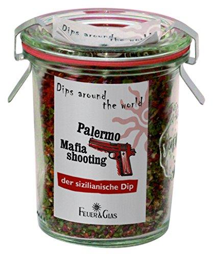 Feuer & Glas Dip Gewürzmischung Palermo Mafia Shooting 45g