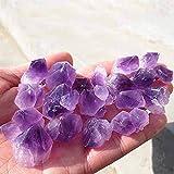 Natural 100g natural amatista esquelético del punto del cuarzo cristal Cluster de muestras curativas Piedras naturales Minerales escritorio del hogar Decoración for Acuarios accesorio de la joyería
