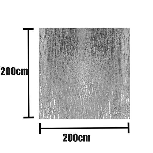 JIUYUE Couverture Piscine Couverture Solaire Piscine extérieure Bain Couverture Couverture Bubble antipoussière Piscine étanche Couverture Accessoires Piscine (Color : 200x200CM)