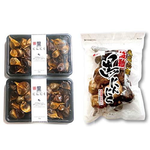 【玉バラセット】 青森県産 熟成 波動黒にんにく (1kg)